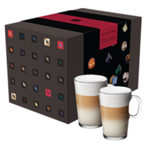25 Sleeve Discovery Coffee Assortment with 2 FREE View Mugs
