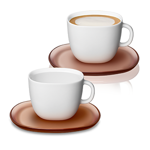 Lume Cappuccino Cup Set