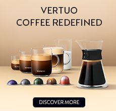 Vertuo Coffee Redefined. Discover More